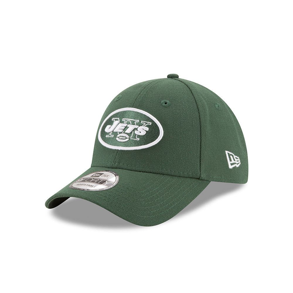 9068284e3ccfe0 NEW ERA NEW YORK JETS BASEBALL CAP.9FORTY NFL LEAGUE ESSENTIAL NY GREEN HAT  874
